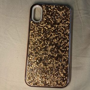 Rose Gold Textured IPhone XR Case
